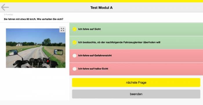 ÖAMTC Führerschein-Test App für Smartphones & Tablets