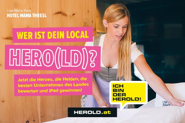 Local HERO(LD) 2016, iPad gewinnen, Firmen bewerten