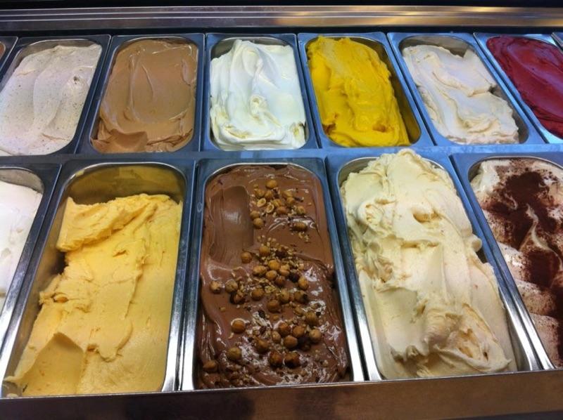 Eissalon Wien - viele Sorten gibt's beim Reinbacher - das Eis