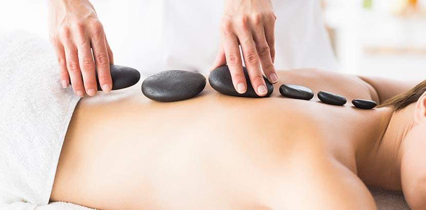 Massagearten - Hot Stone Massage