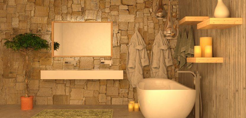 ... Lichtelementen Romantisches Badezimmer ...