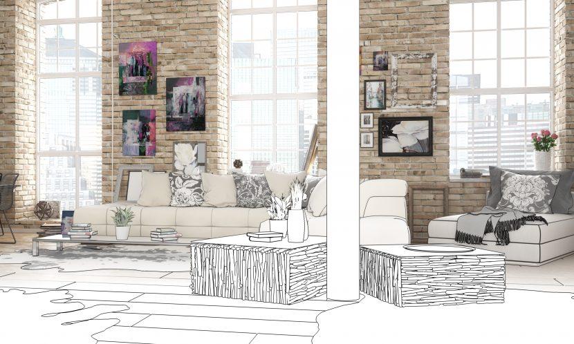 kosten f r den innenarchitekten ein berblick. Black Bedroom Furniture Sets. Home Design Ideas