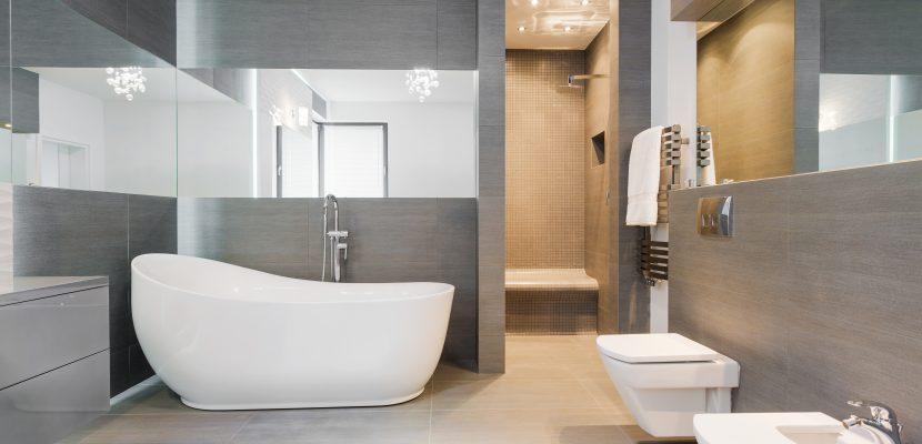 Freistehendes Badezimmer