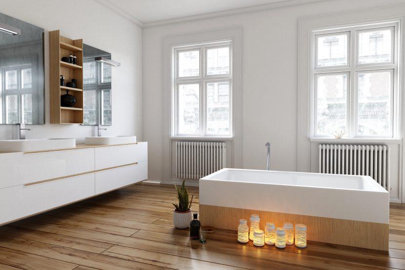 laminat im badezimmer warum nicht. Black Bedroom Furniture Sets. Home Design Ideas
