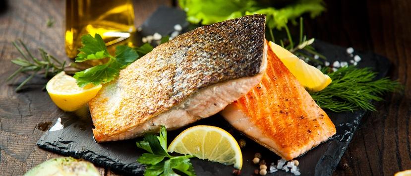 Menü im Fischrestaurant Wien