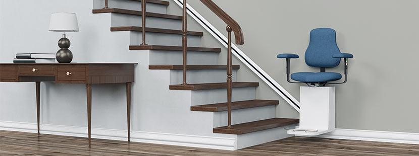 moderner Treppenlift mit schönem Design