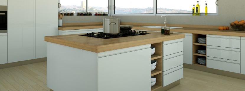 Kochinsel | Die richtigen Maße für die Kücheninsel - HEROLD