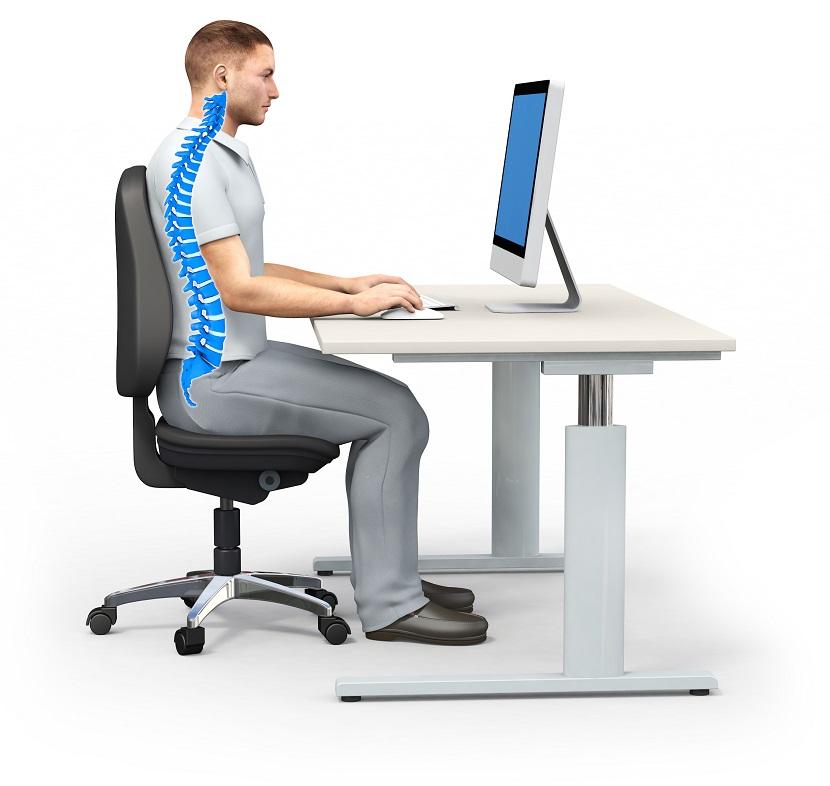 ergonomie am arbeitsplatz so bleibst du gesund. Black Bedroom Furniture Sets. Home Design Ideas