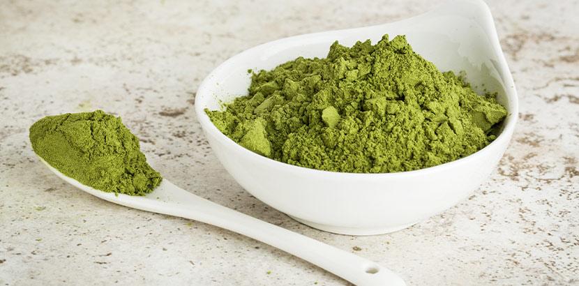 Superfood Moringa als pulverisiertes Lebensmittel