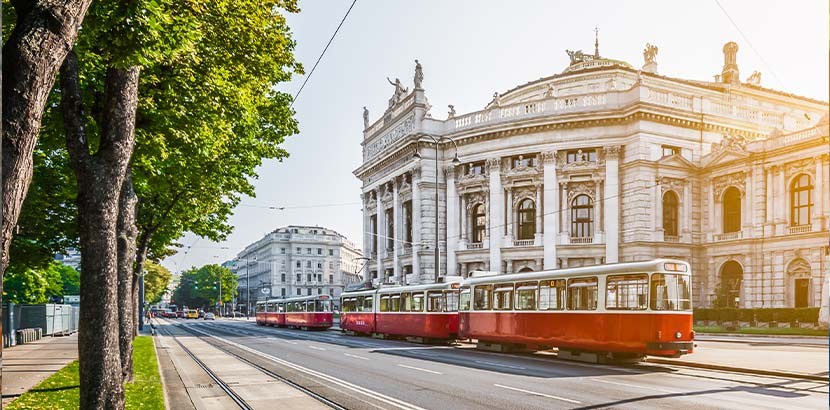 Das Vestibül im Burgtheater gehört zu den barrierefreien Lokalen in Wien.