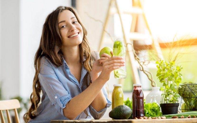 Detox Foods für eine gesunde Ernährung und einen gesunden Körper