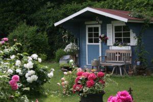 Fundament fürs Gartenhaus