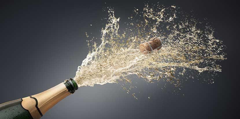 Spritzwein Sekt Champagner