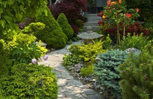 Gartenweg anlegen, Gestaltungsideen