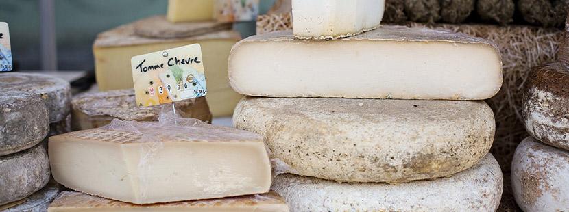 Käse mit guter Qualität