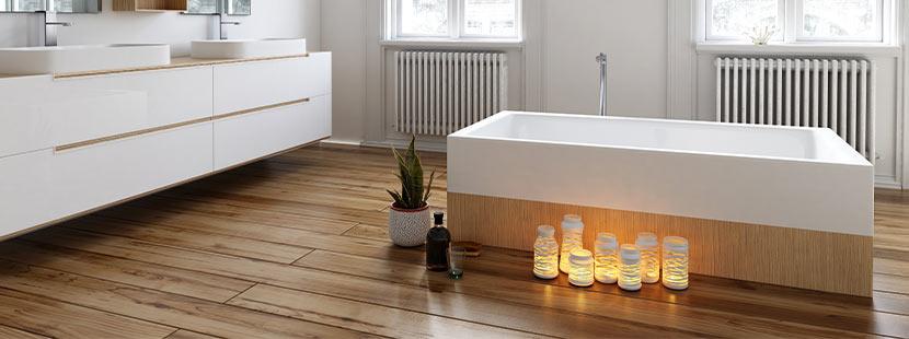 feuchtraum laminat f r badezimmer. Black Bedroom Furniture Sets. Home Design Ideas
