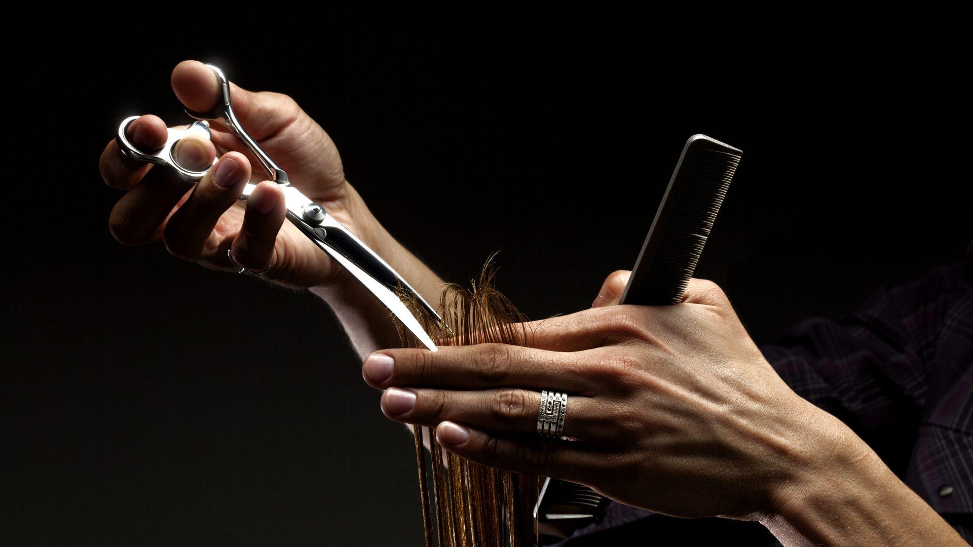 Friseure die zuhören in Wien