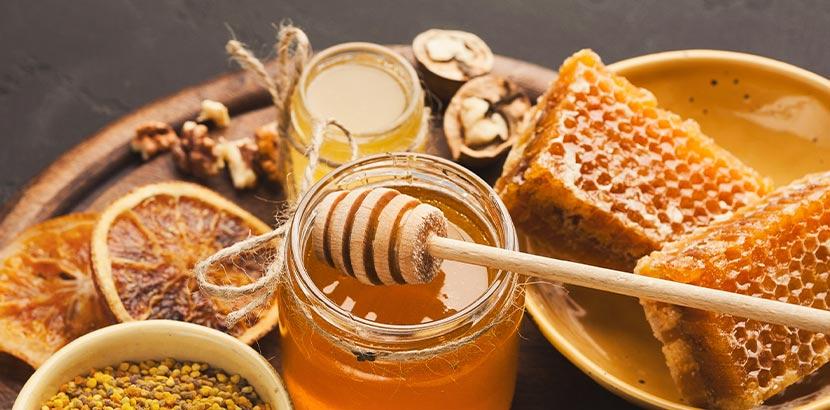 Haare bleichen: Honig