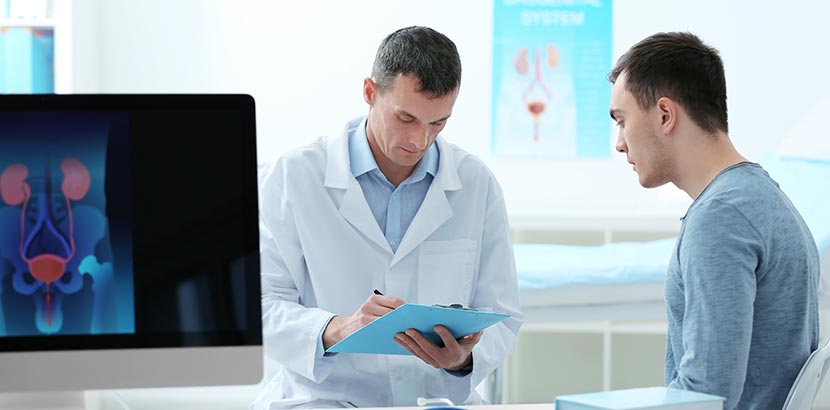 Harnreflux Diagnostik