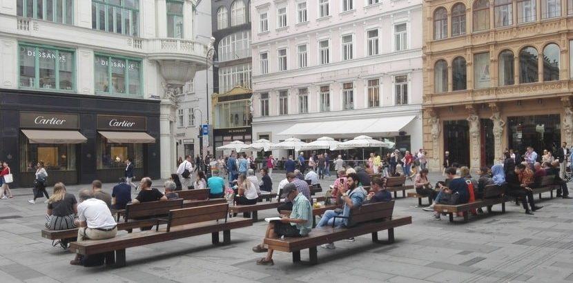 Außergewöhnliche Führungen in Wien, Blick auf den Graben, Bild (c) Claudia Busser - HEROLD.at