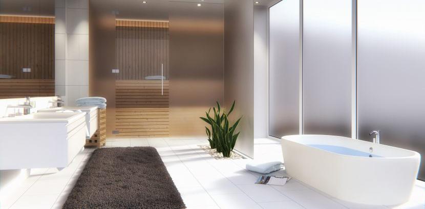 Badezimmerfenster | Milchglas oder Folie als Sichtschutz ...