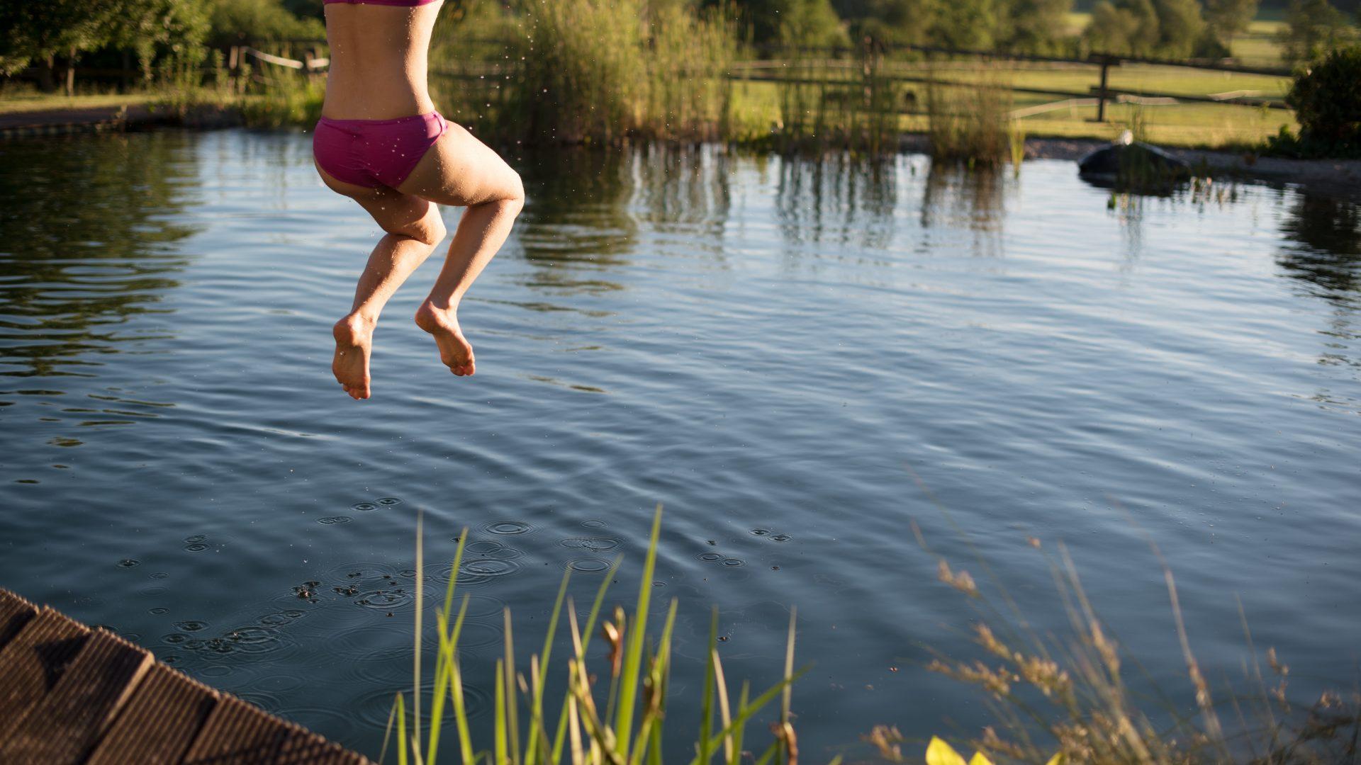 Schwimmteich, Naturpool, Biotop