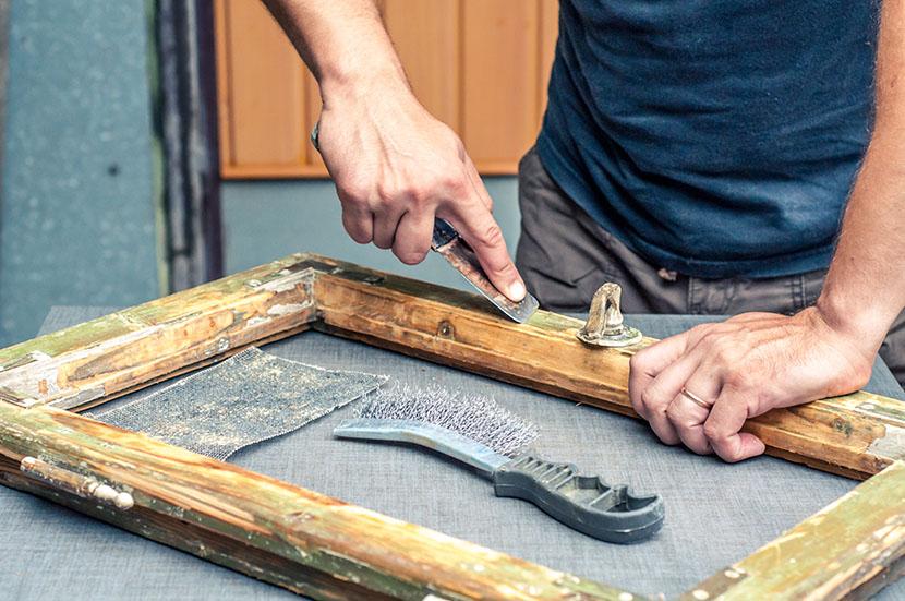 Holzfenster sanieren