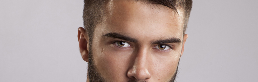 Augenbauen Formen für Männer