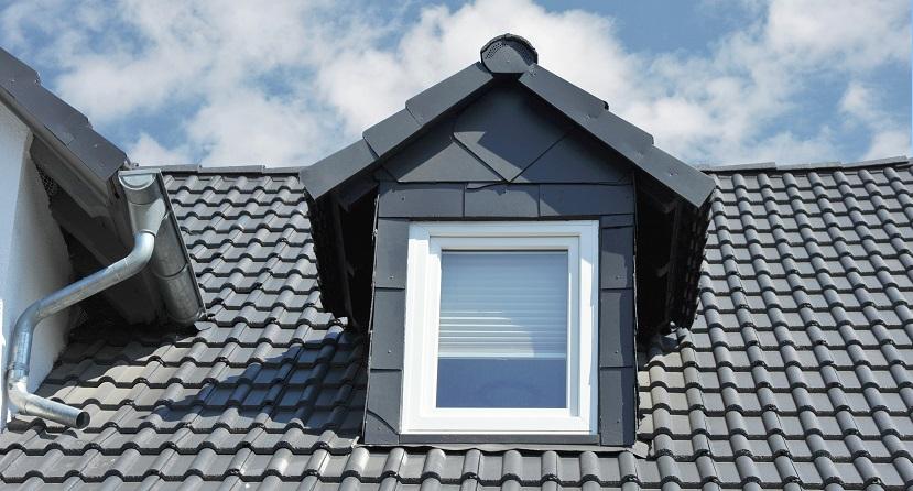 Dachgaube einbauen auf Ziegeldach