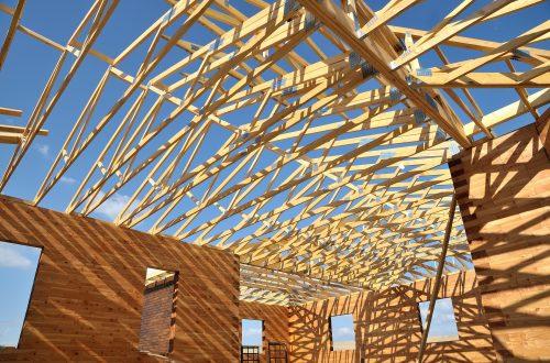 Konstruktionen aus Fichtenholz sind langlebig und robust.