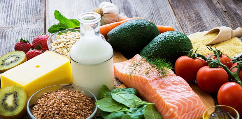 Gesunde Ernährung ist ein wichtiger Faktor, um einer Gürtelrose vorzubeugen.