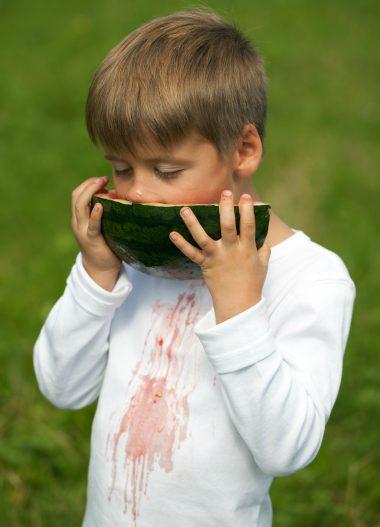 Wassermelone Flecken