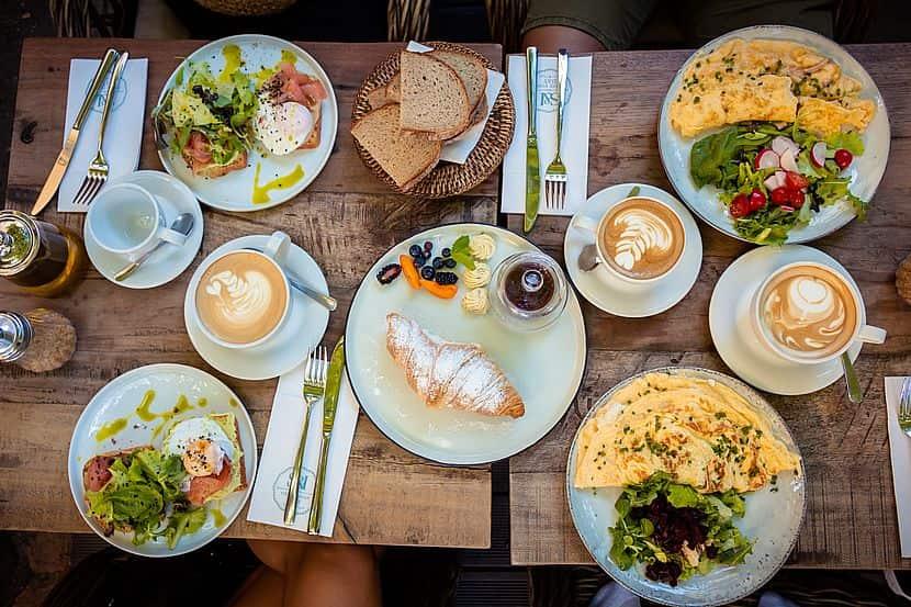 Frühstück in Linz
