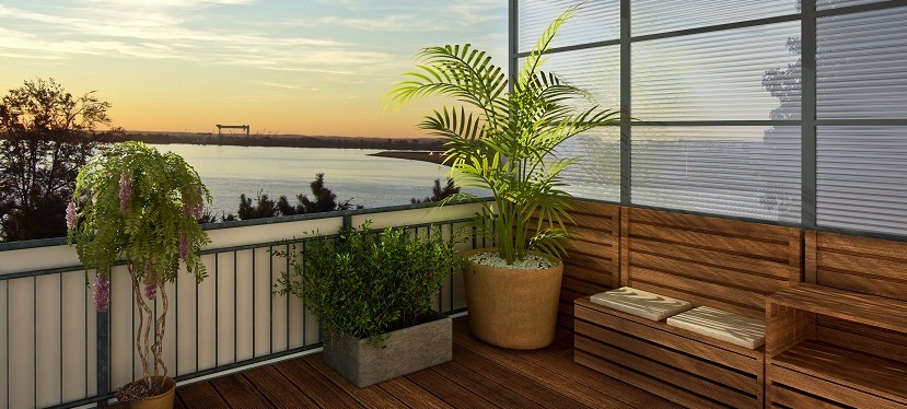 Balkon Sichtschutz Modelle Materialien Und Kosten Im Uberblick