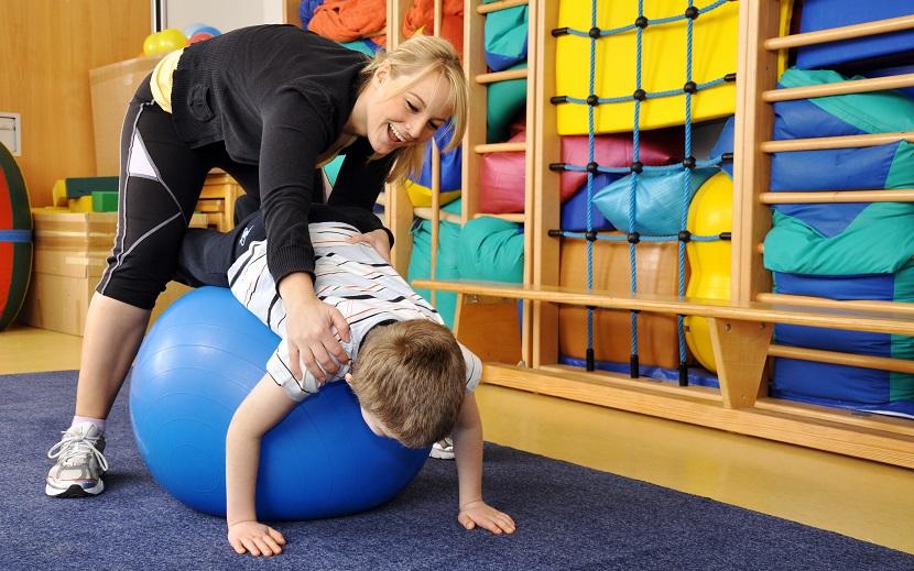 Physiotherapie mit Kindern