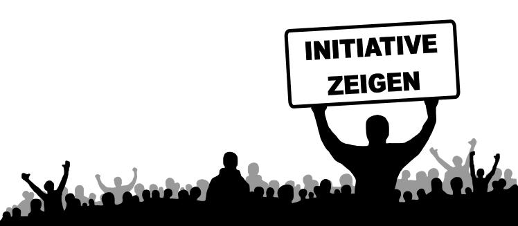 Initiative zeigen bei der Jobsuche