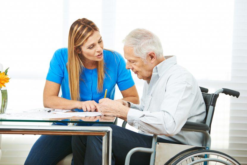 Pflegegeldantrag stellen