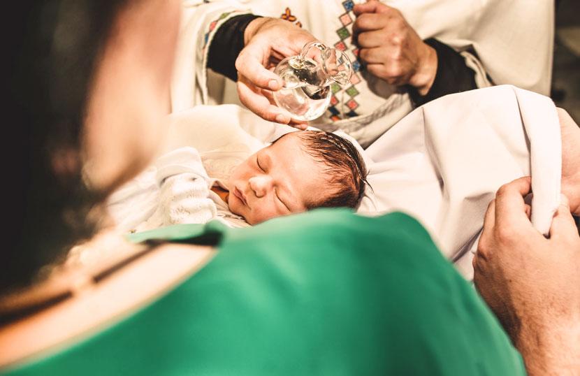 Wann Baby Taufen