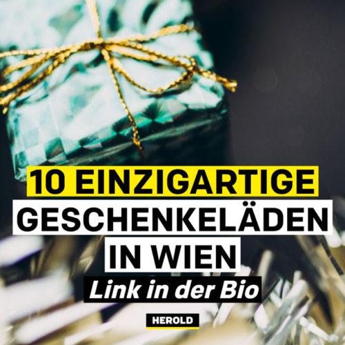 Geschenkeläden Wien Instagram