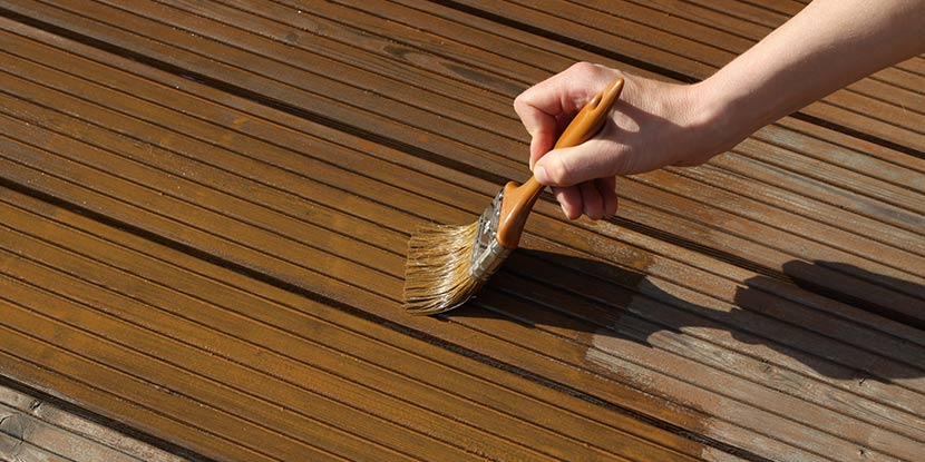 Holzdielen Terrasse Holzarten Reinigung Und Pflege Herold At
