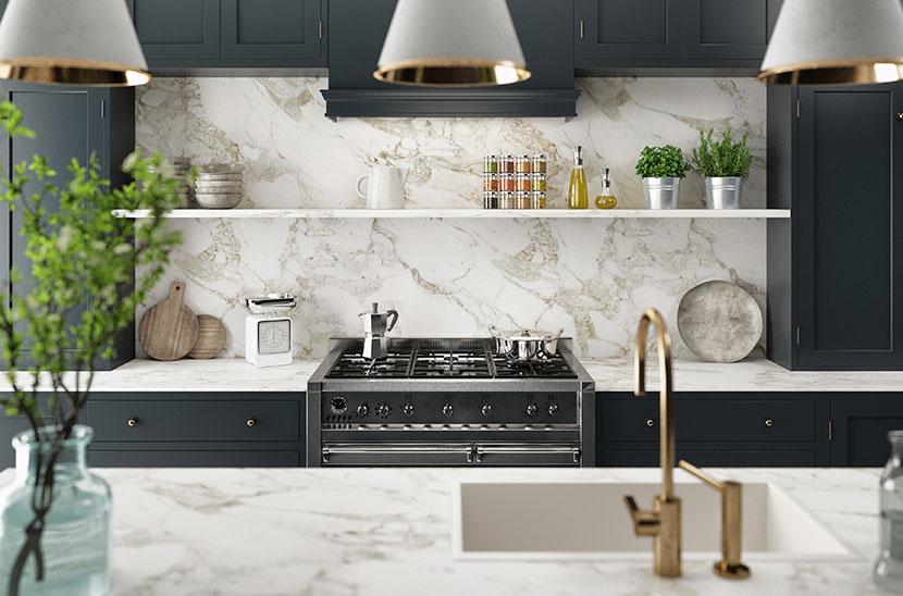 Gut bekannt Küchenrückwand   Dekorative Wandverkleidung in der Küche - HEROLD WD78