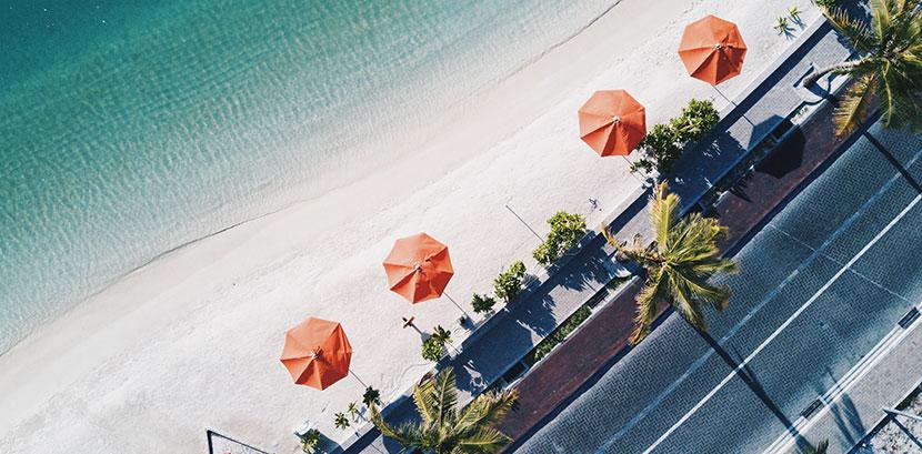 Sonnenallergie Bilder: Ein sonniger Strand