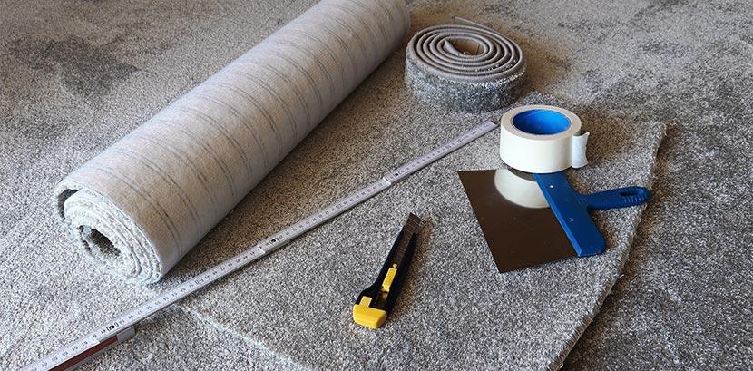 alle werkzeuge zum teppich verlegen auf einem blick. Black Bedroom Furniture Sets. Home Design Ideas