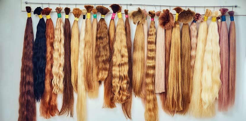 Afro friseur haarverlangerung
