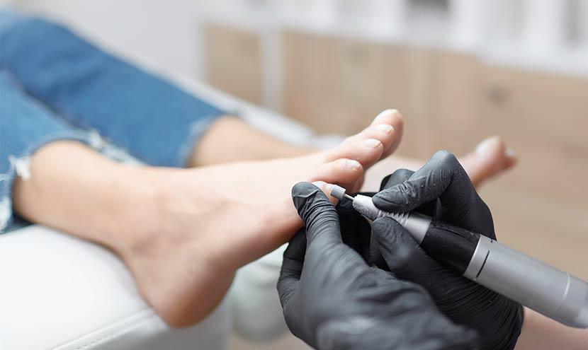 professionelle Fußpflege