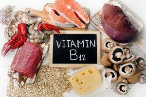 Lebensmittel mit Vitamin B12 - Leber, Fisch, Fleisch, Käse