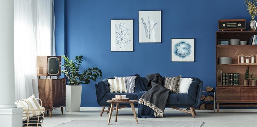 Wandfarben Ideen - blau