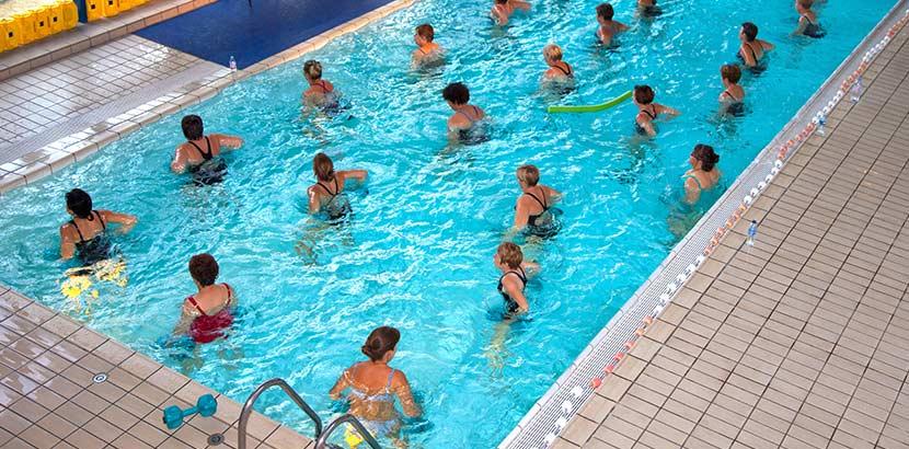 Kuranstalten Österreich mit Unterwassergymnastik