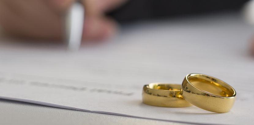 Eheringe Ehevertrag