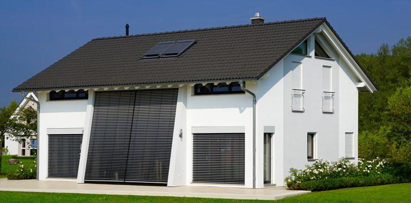 Dachformen: Haus mit Satteldach